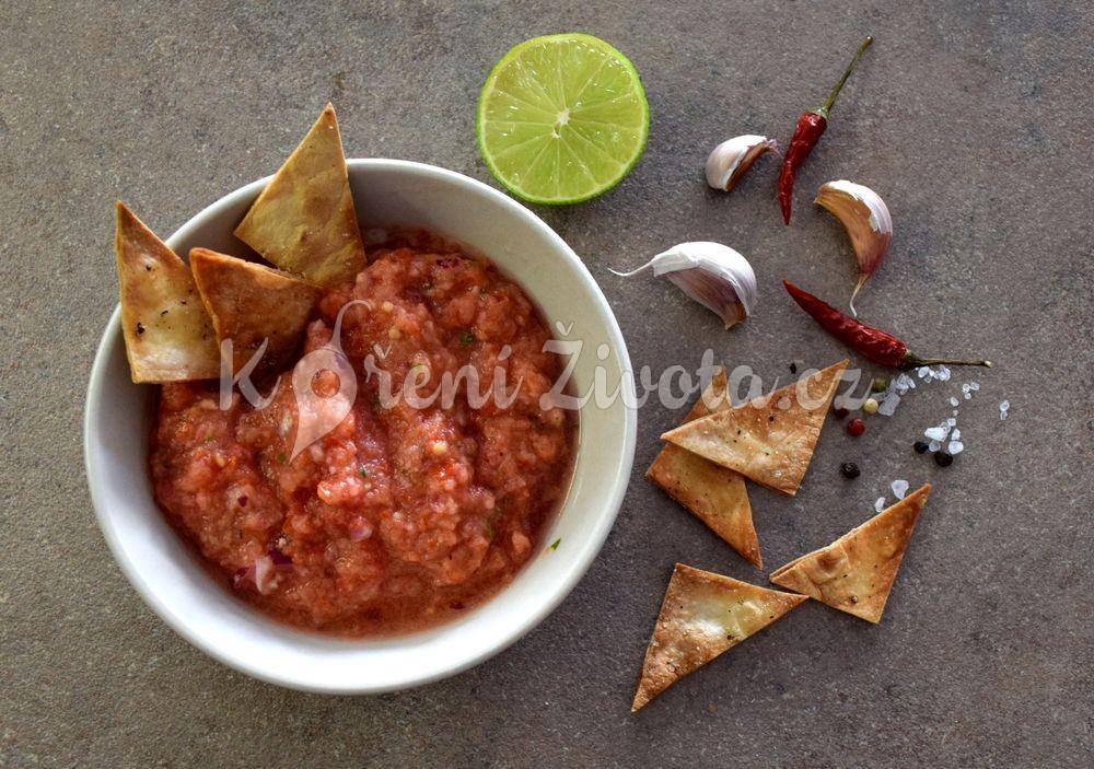 Domácí rajčatová salsa
