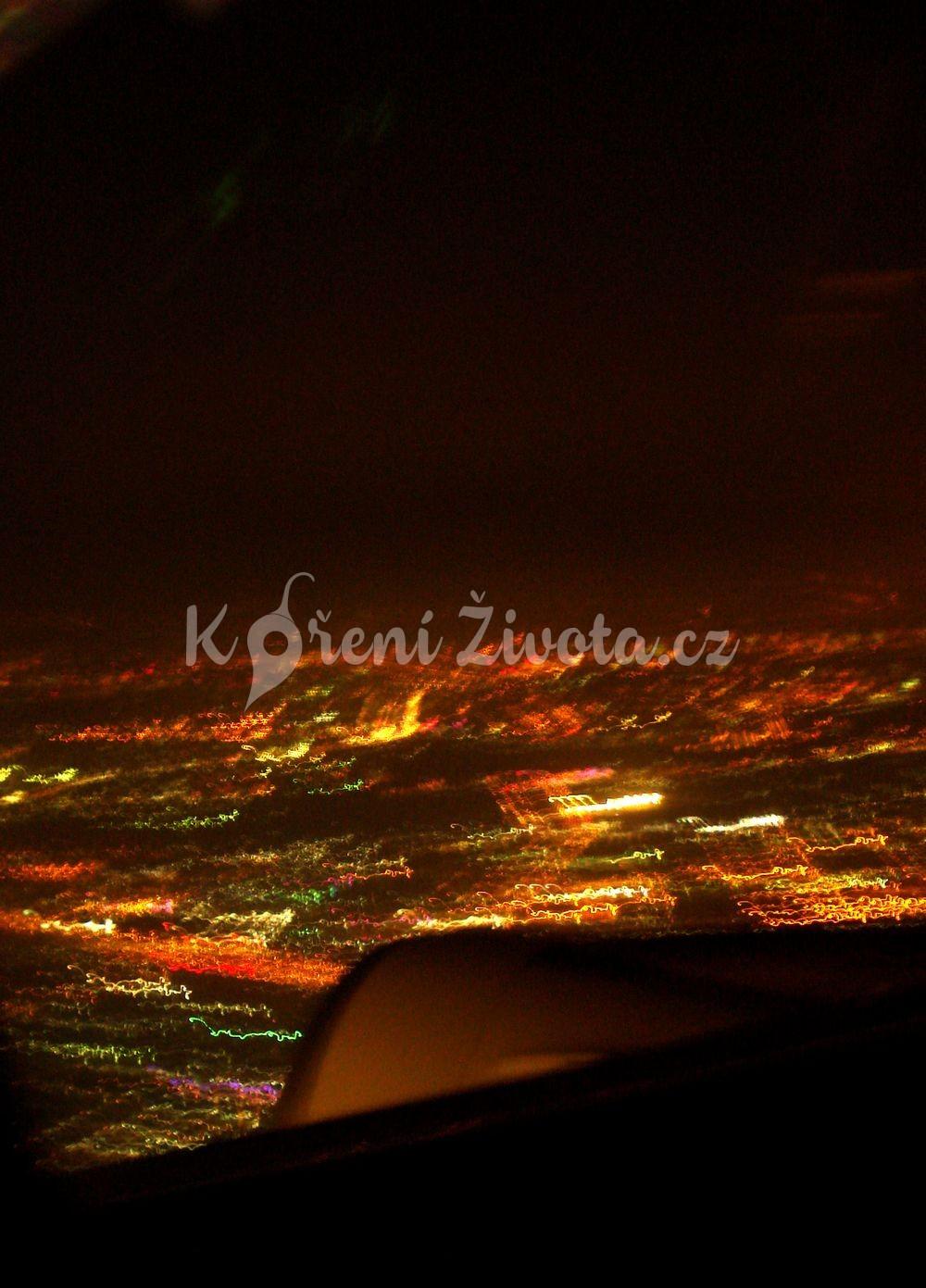 Noční Ho Chi Ming City