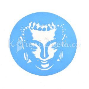 Šablona na zdobení dortu - Buddhova hlava.