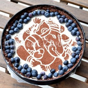 Šablona na zdobení dortu - Ganesha.