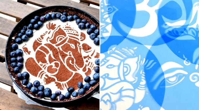 Nové ručně vyráběné šablony na zdobení dortů.