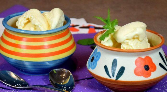 Domácí vanilková zmrzlina bez zmrzlinovače