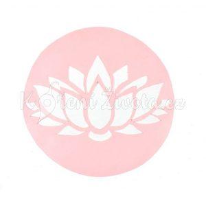 Šablona na zdobení dortů - lotosový květ, cca 19 cm