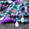 Šperky s achátem - inspirační fotografie jak vypadá set (není součástí produktu)