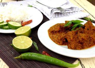 Rendang sapi aneb slavnostní indonéské hovězí kari recept