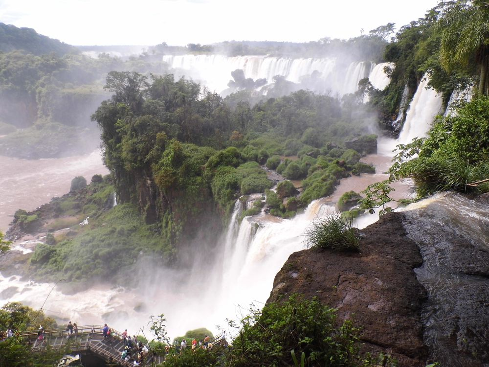 Vodopády Iguazu, Argentina