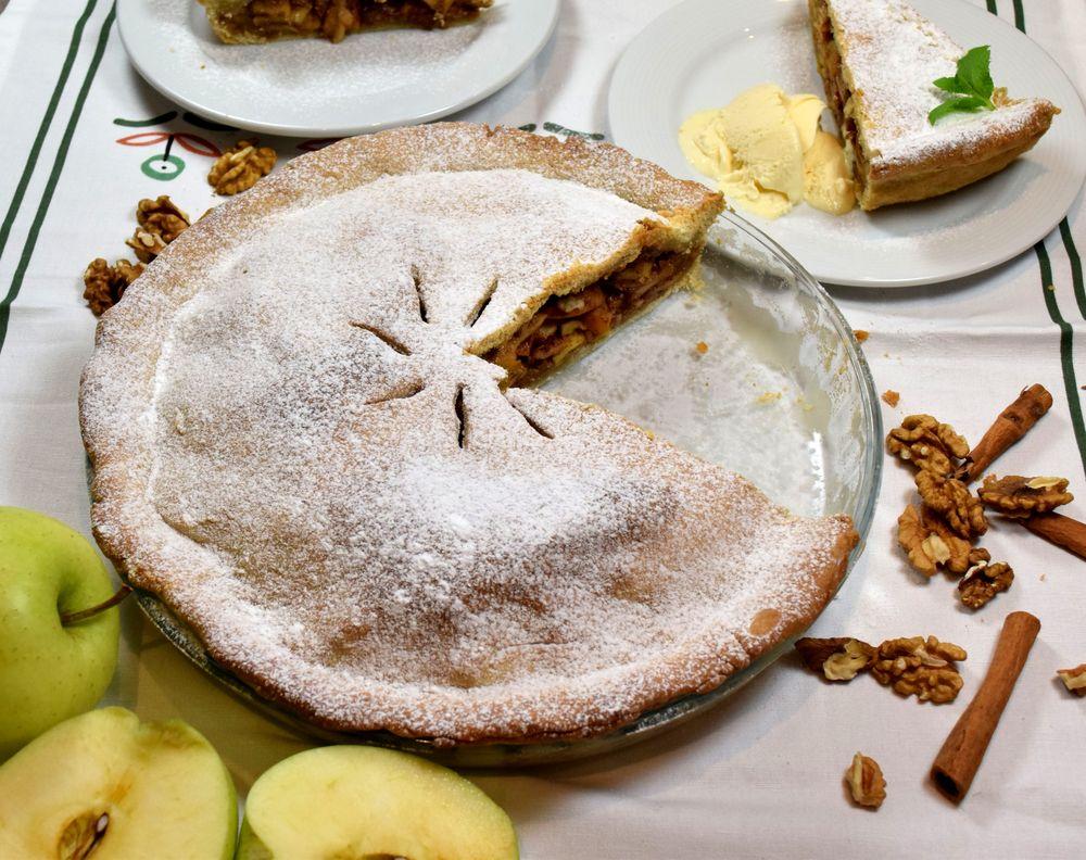 Americký jablečný koláč recept