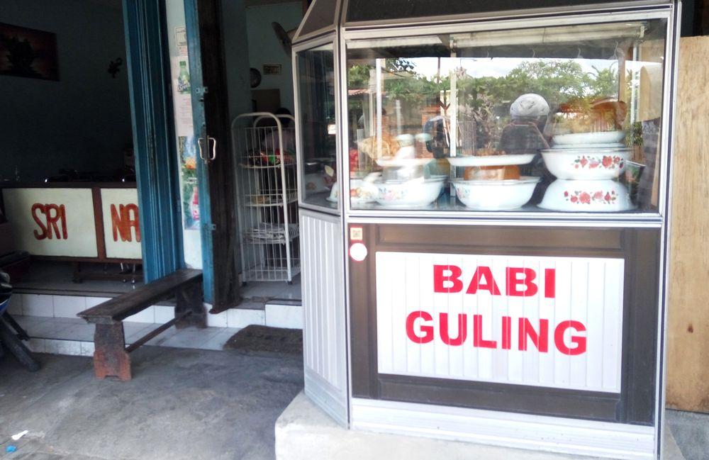 Babi guling warung - vše z prasátka :-)