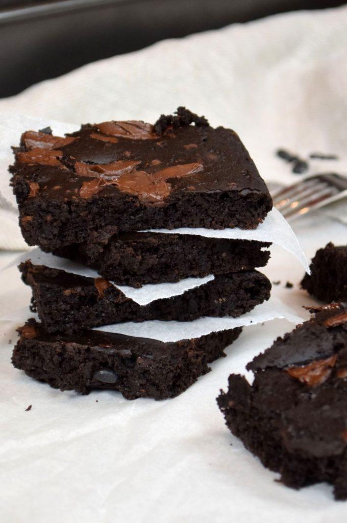 Dokonalé brownies z černých fazolí  recept