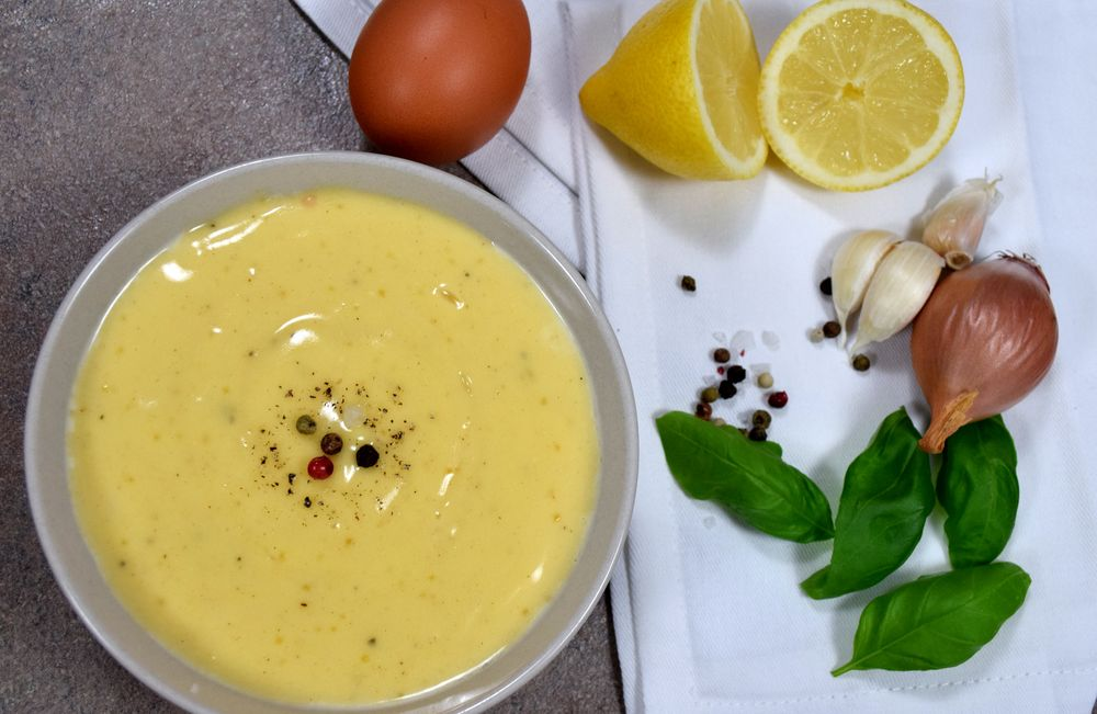 Domácí majonéza se šalotkou recept