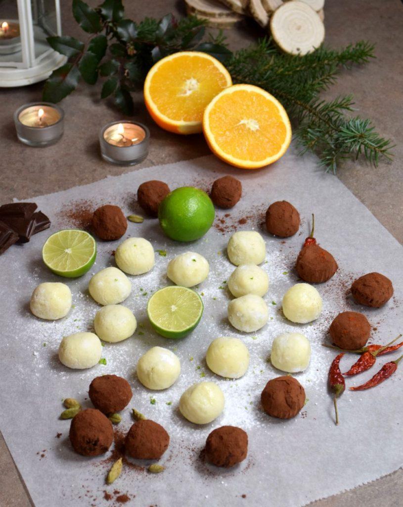 Domácí čokoládové pralinky recept