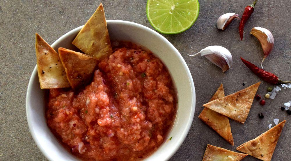 Domácí rajčatová salsa recept
