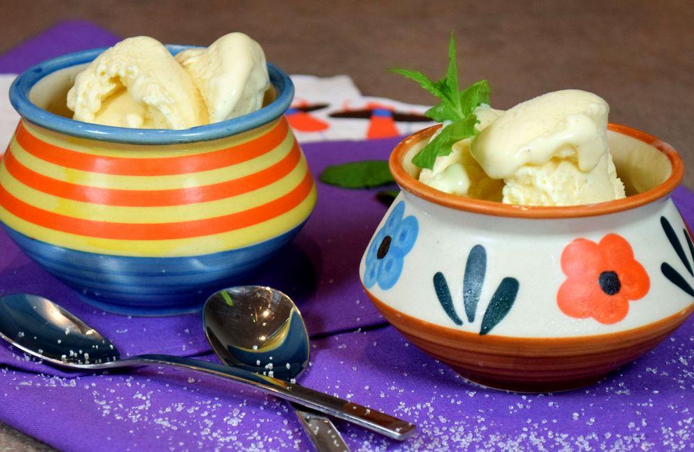 Domácí vanilková zmrzlina recept