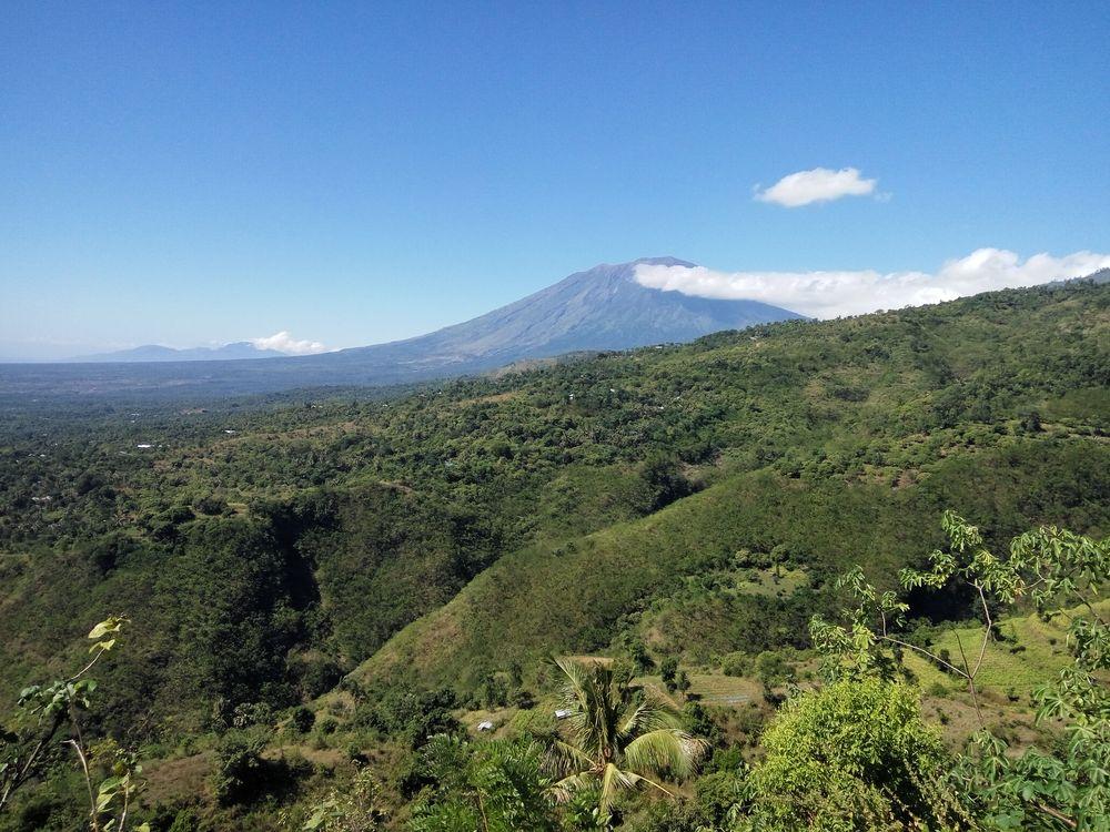 Balijské výhledy na sopku