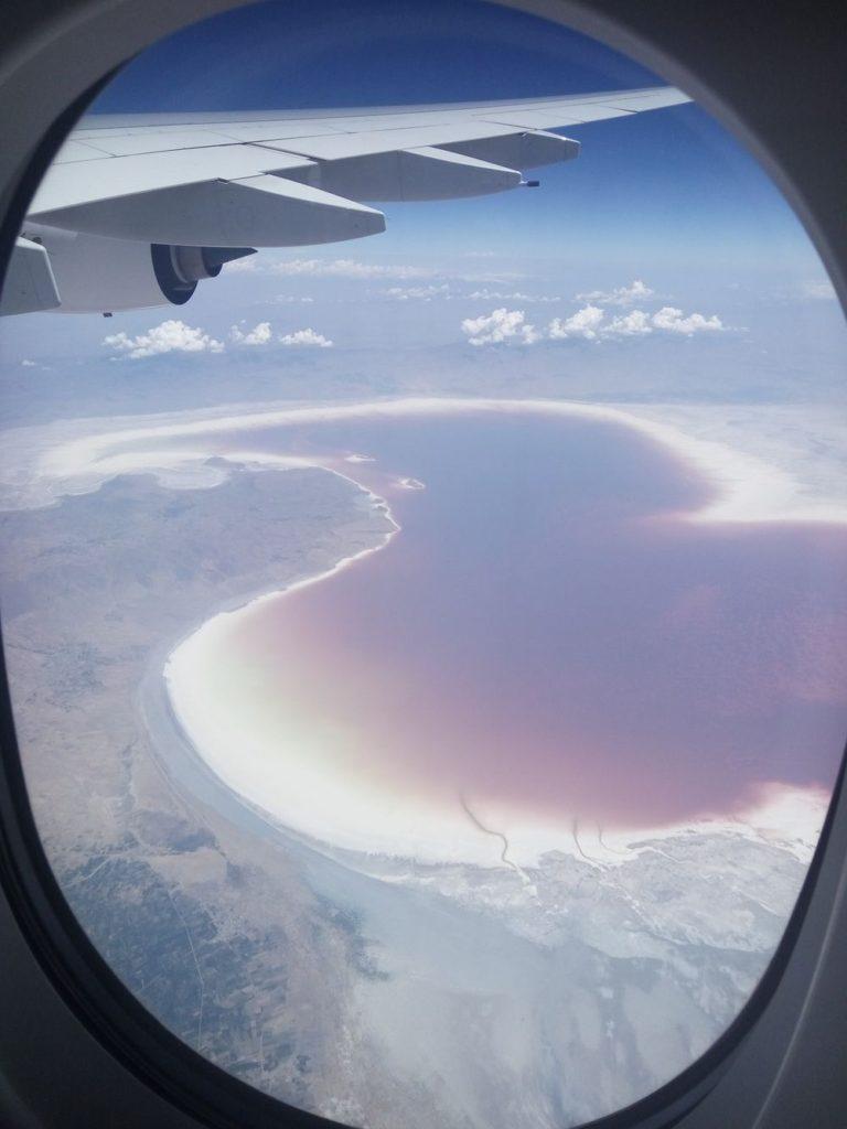 Íránská růžová jezera