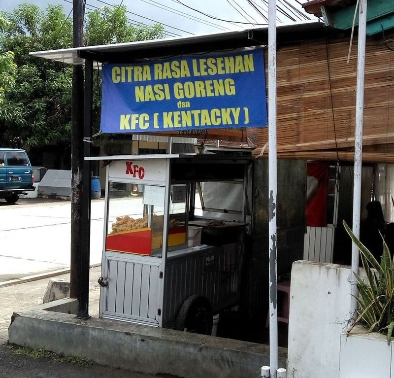 KFC po indonésku