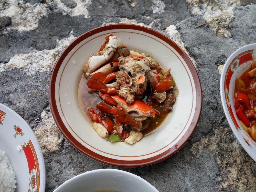 Kepiting - krabí maso ve vývaru