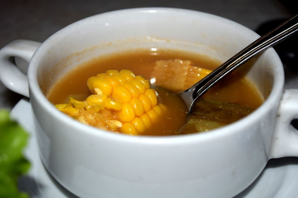 Sayur asem - zeleninová polévka