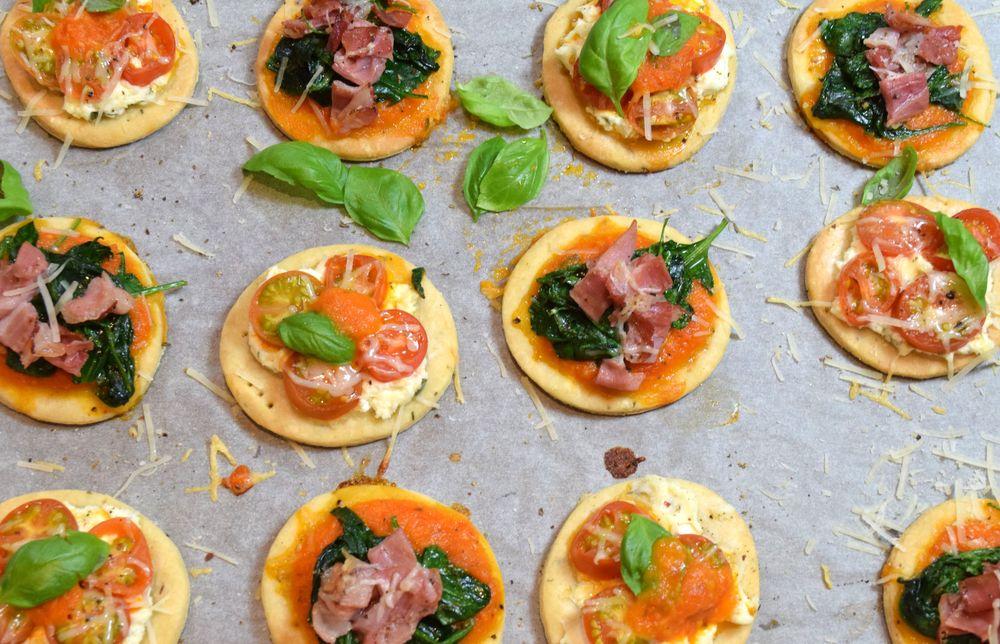 Italské slané minikoláčky recept