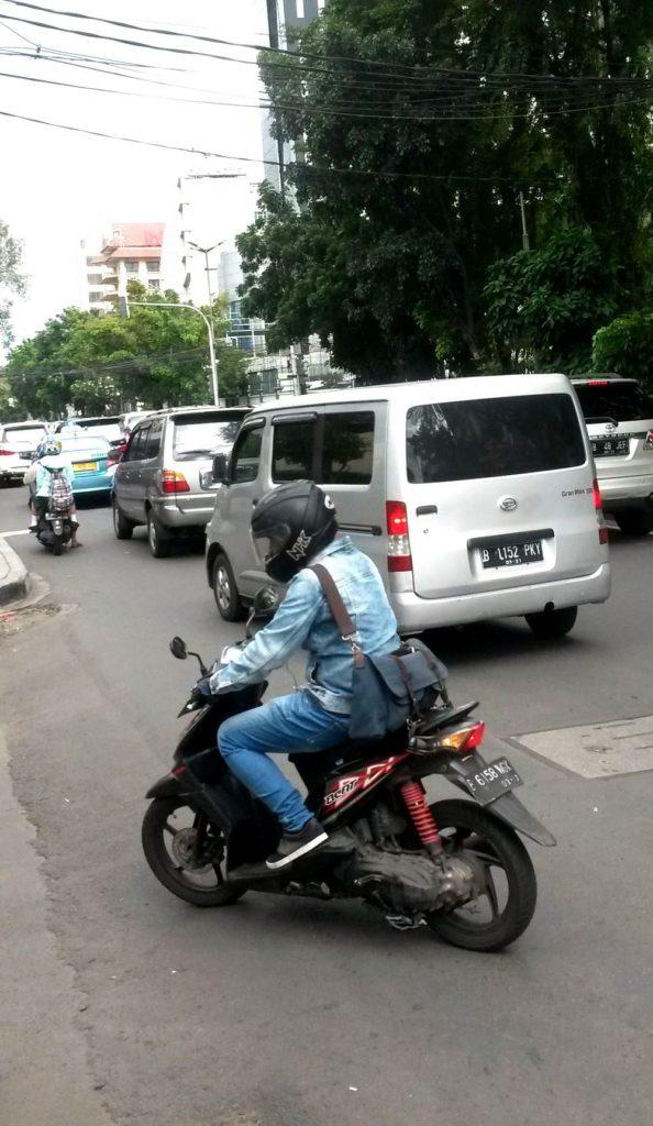 Doprava poblíž Jakarty