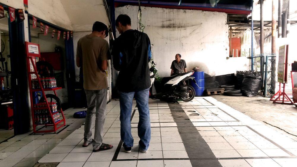 Honda servis v Depoku u Jakarty