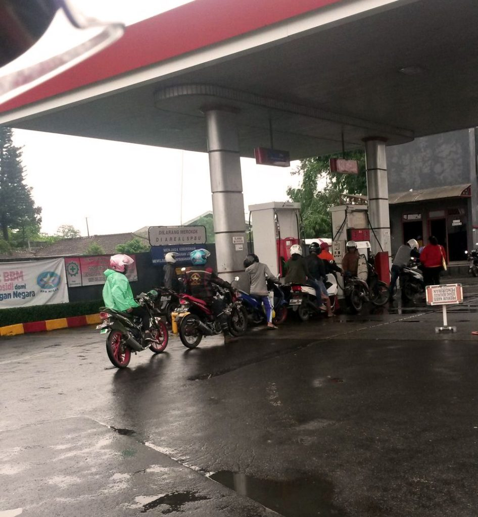 Klasická benzínka