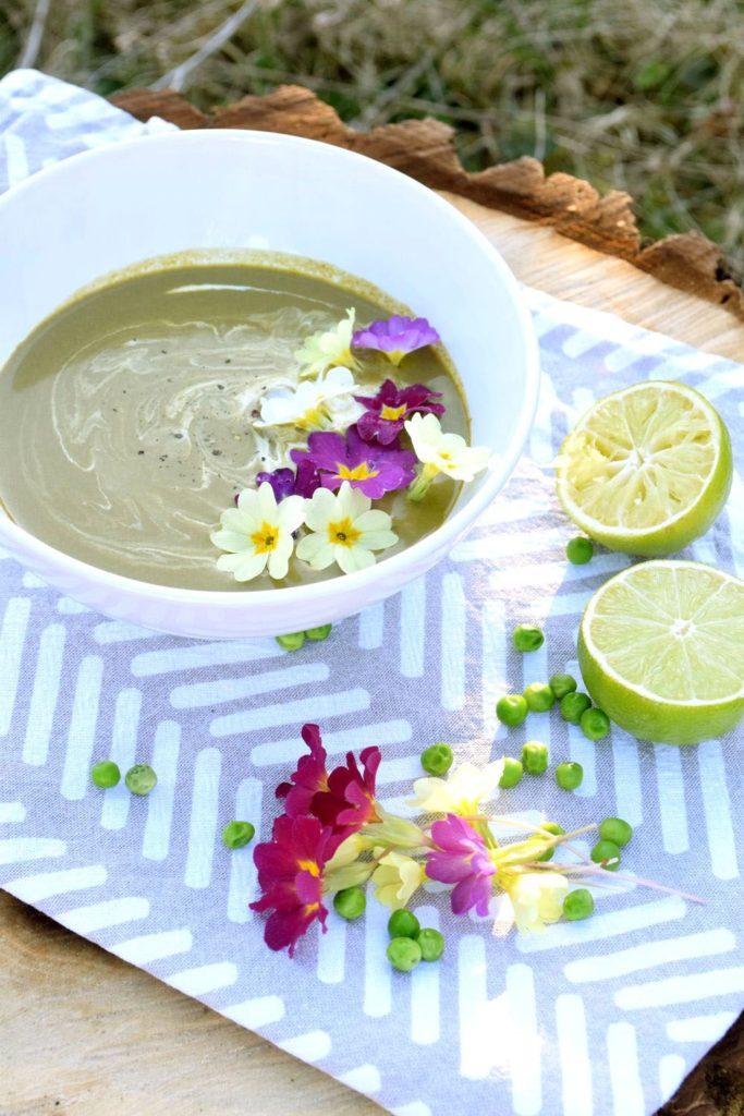 Jarní špenátová polévka recept