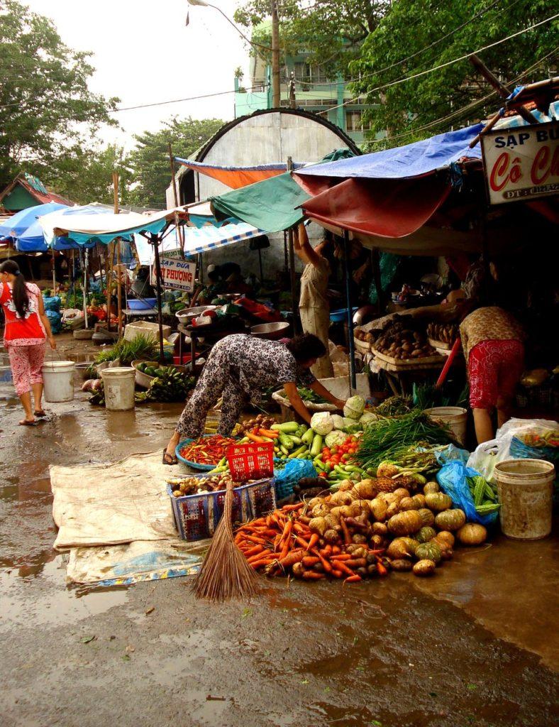Tržnice se zeleninou, ovocem a zkrátka vším co vás napadne