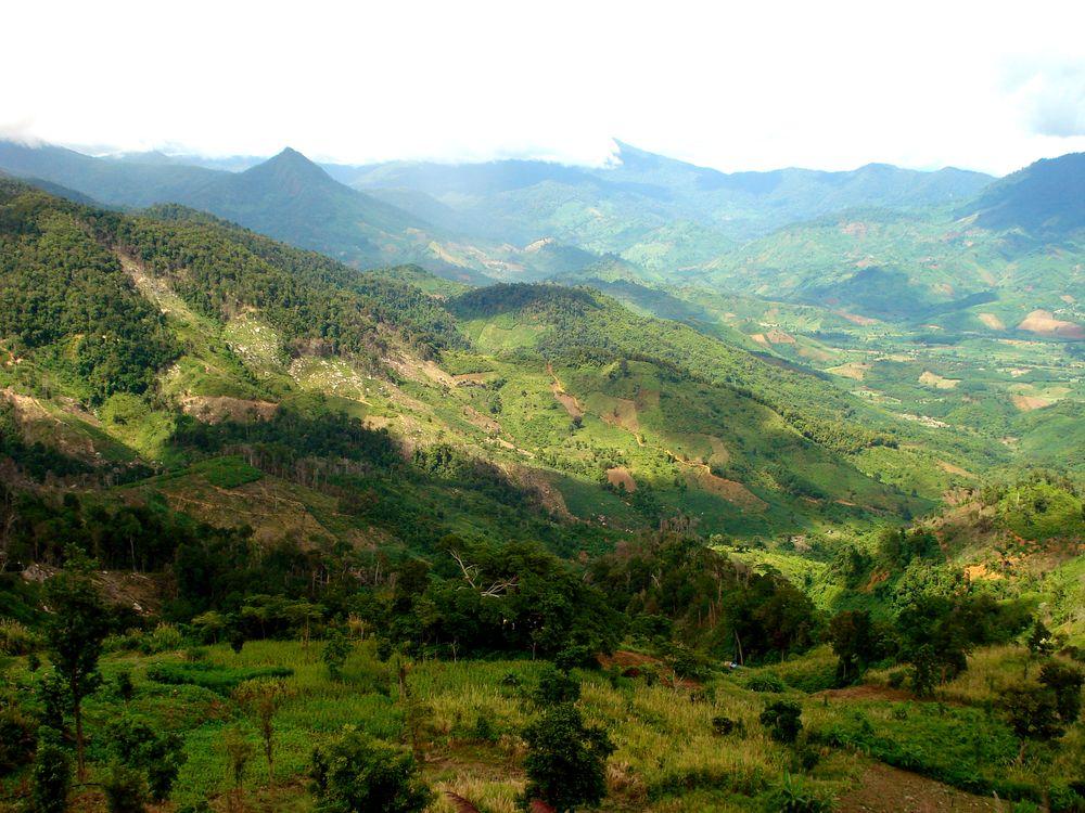 Nádherné vietnamské hory cestou do Dalatu