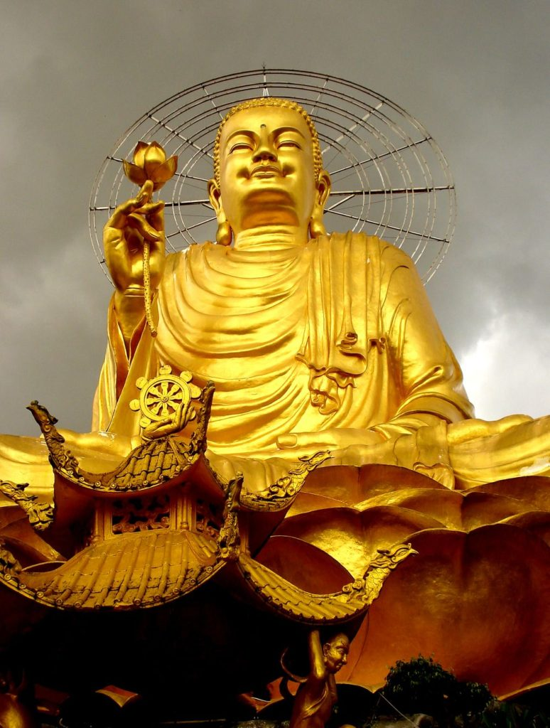 Dalatský zlatý Buddha