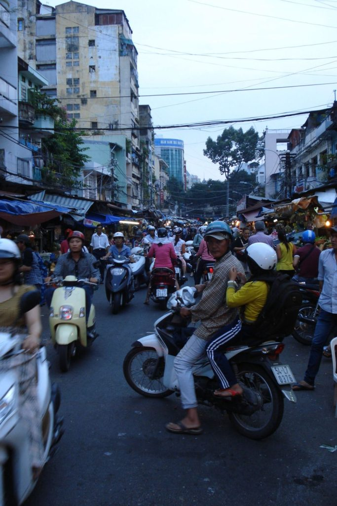 Doprava ve Vietnamu na trhu
