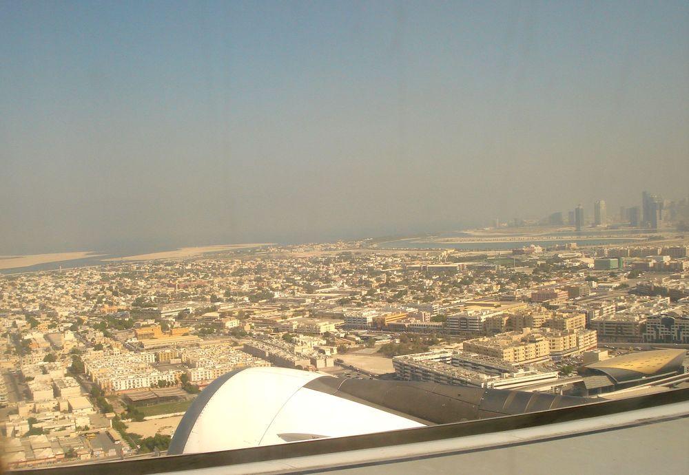 Přistání v Dubaji