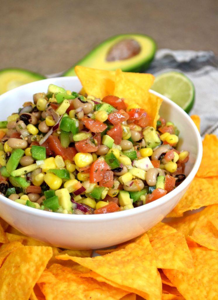 Mexický fazolový salát recept