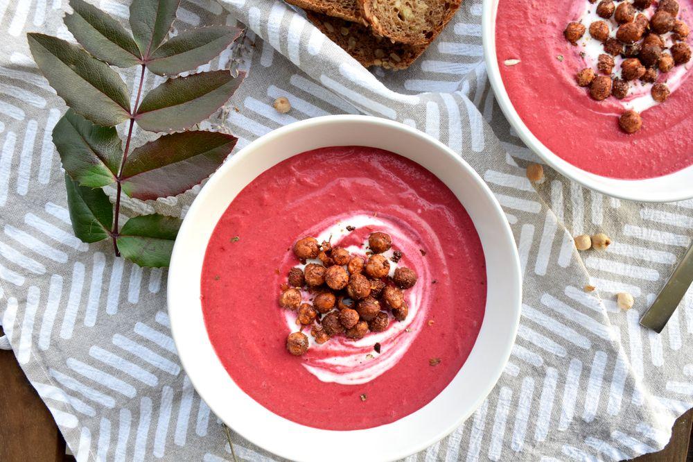 Polévka z červené řepy recept