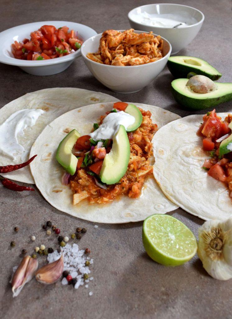 Nejjemnější trhané kuřecí maso na tacos a do sendvičů