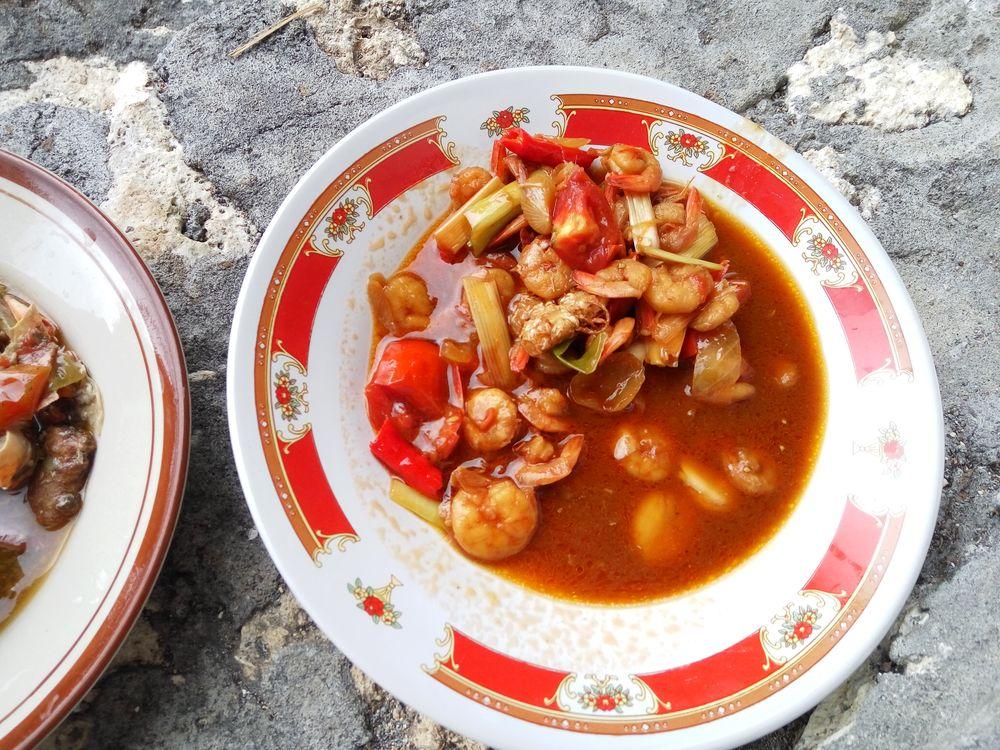 Udang asam manis - krevety ve skladkokyselé omáčce