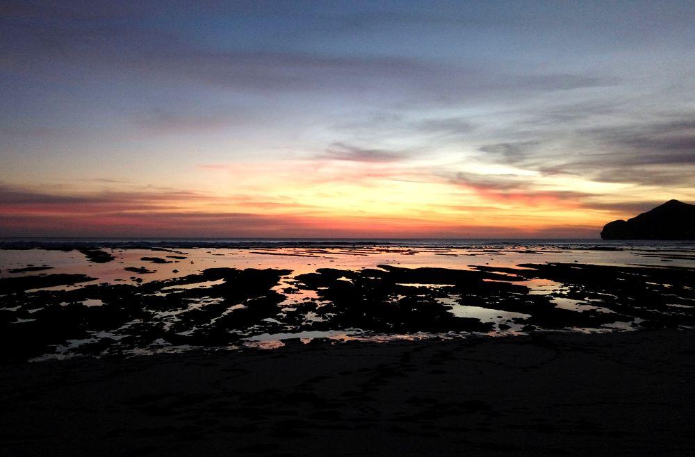 Západ slunce na Sumbawě