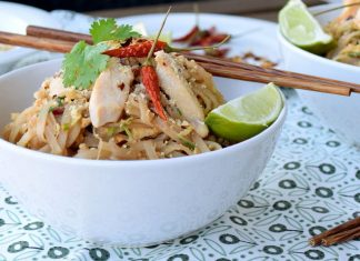 Recept na Pad Thai