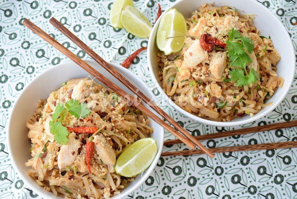 Recept na Pad Thai