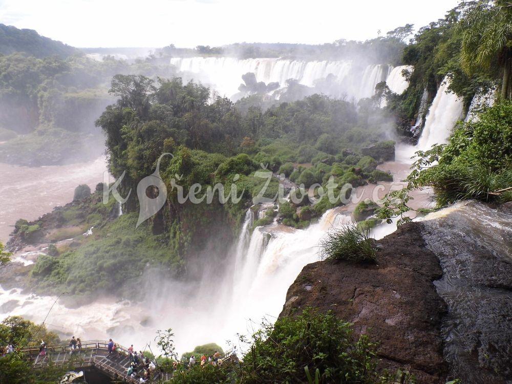 Vodopády Iguazú, Argentina