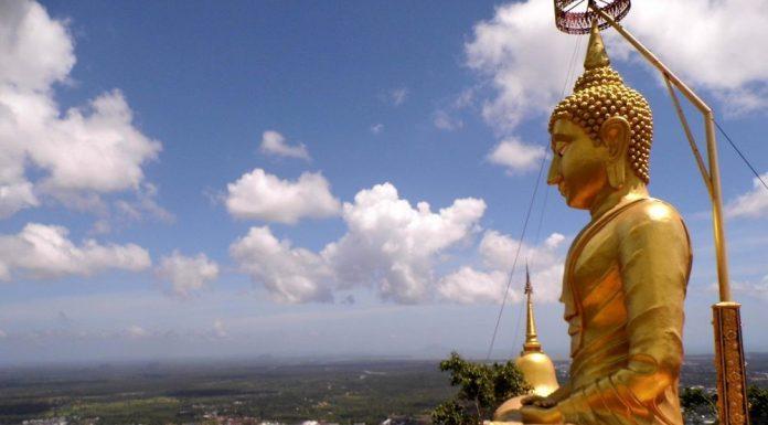 Tiger Cave Temple, Krabi, Thajsko