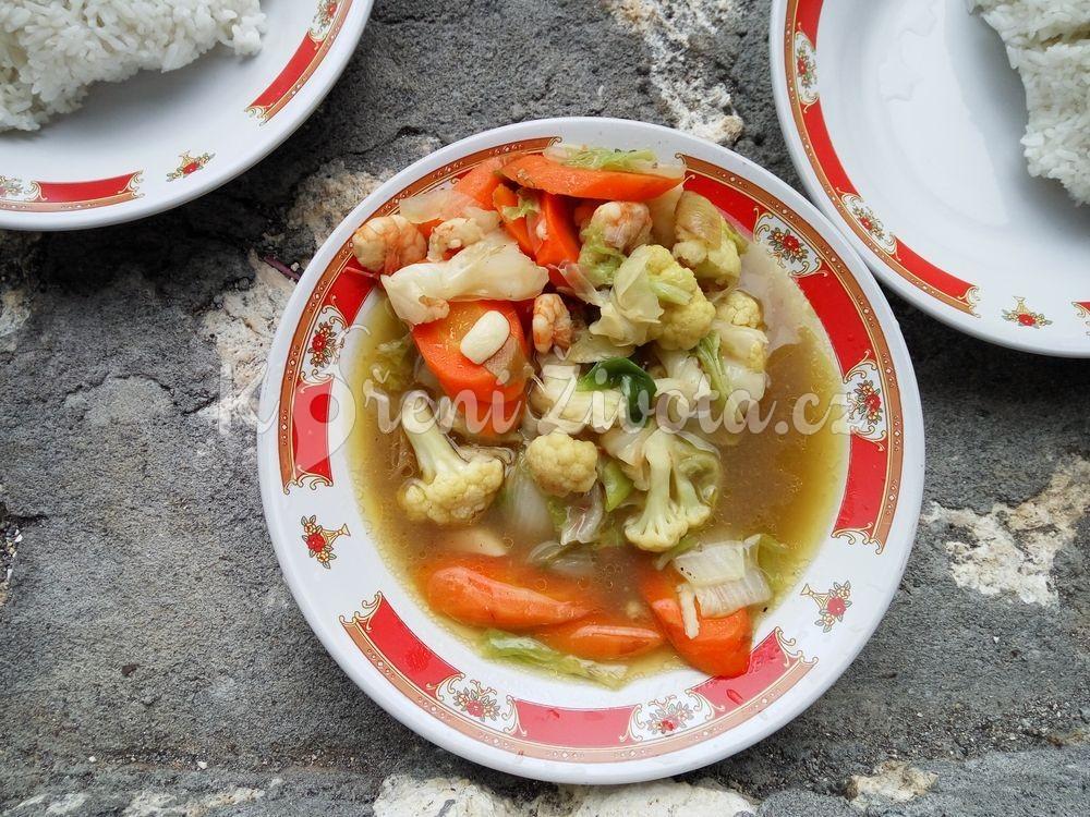 Zeleninová směs Cap cay