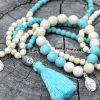 Šperky z howlitu - inspirační fotografie jak vypadá set (není součástí produktu)