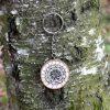 Ručně malovaný dřevěný přívěsek na klíče *MANDALA*