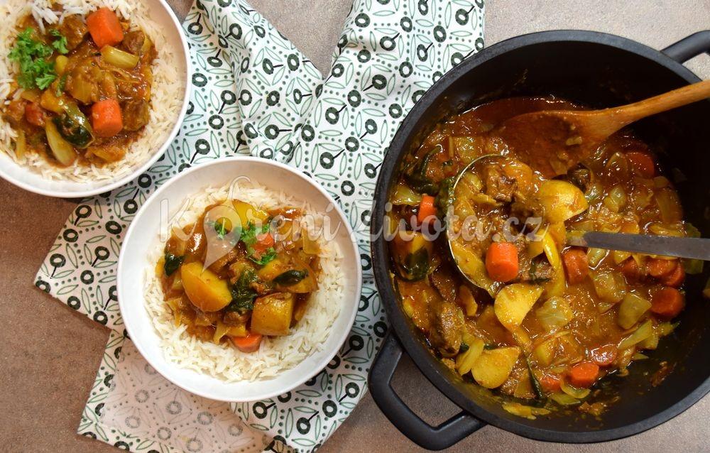 Beef stew aneb hovězí guláš na africký způsob