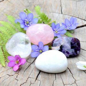 ~ČISTOTA~ Harmonizační set minerálních kamenů pro posílení ženskosti a lásky