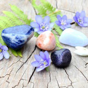 ~VĚŘÍM~ Set minerálních kamenů pro zdraví těla i duše